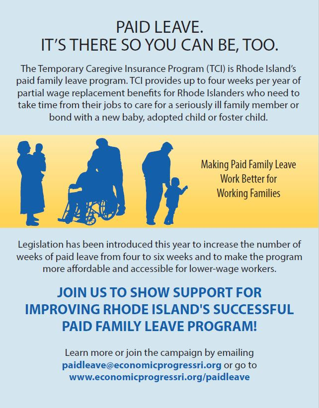 Earned Sick Paid Leave Flyer